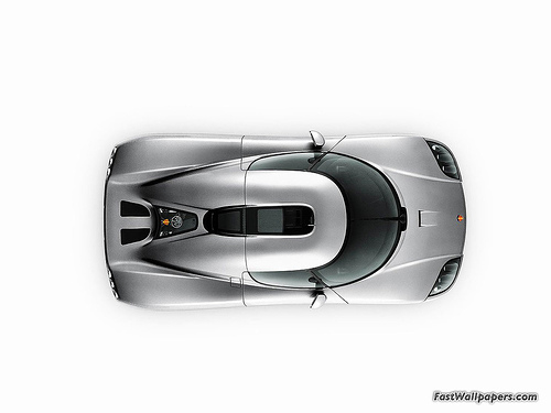 Koenigsegg CCX top-view