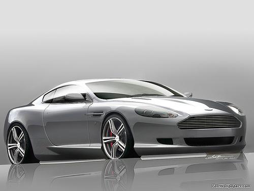 Aston Martin DB9 LM 2008
