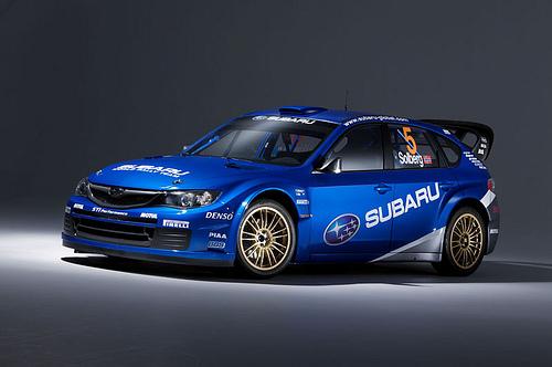 Subaru wrc 2008 WRX STI